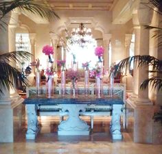 Ritz Carlton Orlando Grande lakes Entry Foyer...Just Like Home! NOT. But an inspiration to be sure.