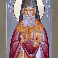 St Porphyrios the Kavsokalyvitis