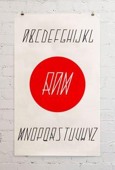 Ram Typeface | by Štěpán Prokop