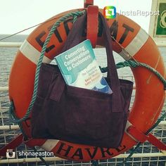 My book has been on a ferry to France with the talented bag designer Travelling, Social Media, France, Backpacks, Book, Instagram Posts, Pictures, Design, Books