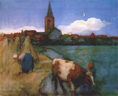 View of Winterswijk - Piet Mondrian