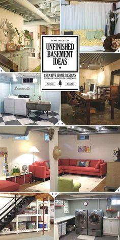 85 best finished unfinished basements images in 2019 basement rh pinterest com
