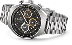 "OMEGA Watches: Speedmaster Mark II Rio 2016, Each Olympic Games is marked by excitement and a captivating spirit. The Speedmaster Mark II ""Rio 2016"" is a tribute to the Rio 2016 Olympic Games and the chronograph's unique dial evokes the feelings of glory and triumph that those very same athletes will experience when they take their place on the podium. Street Price of $5,295.00"