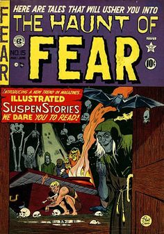 Inbetweens: EC Horror Comics Covers « AnimationResources.org – Serving the Online Animation Community