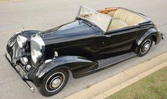 1937 Drophead Coupé by H.J. Mulliner (chassis B79KU) for Mr. Ely