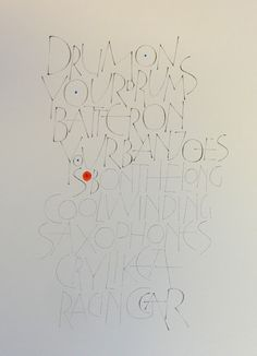 GEMMA BLACK calligraphic designer, artist & teacher