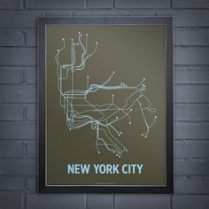 Your Favorite Subway Systems, Now In Poster Form