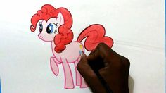 Hey guys watch how to draw my little pony Pink pie easy.. Subscribe for more videos :)