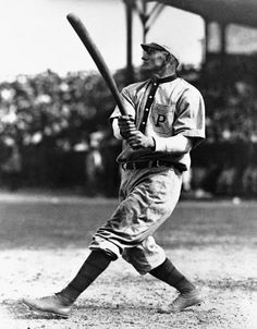 "this-day-in-baseball: ""March 1908 Pirates legend Honus Wagner announces the upcoming season will be his last as a major league player. The old Pittsburgh shortstop will lead the National. Detroit Sports, Pittsburgh Sports, Detroit Tigers, Nationals Baseball, Baseball Jerseys, Baseball Cards, Baseball Movies, Baseball Stuff, Baseball Hat"