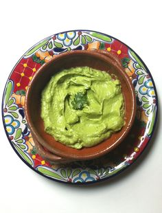 Colombian Guacamole: a spicy twist on traditional guacamole, pureed into a smooth dip or sauce for meats // A Cedar Spoon