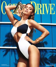 HANNAH DAVIS | 0CEAN DRIVE MAGAZINE COVER PHOTOGRAPHED BY