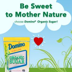Domino® Organic Sugar is harvested and milled on the same day from certified organic sugar cane. Starting with a special single crystallization process that preserves the flavor of sun-sweetened sugar cane. http://www.dominosugar.com/sugar/organic-sugar