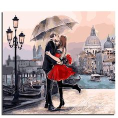 Paint By Numbers - Romantic Pair Kit