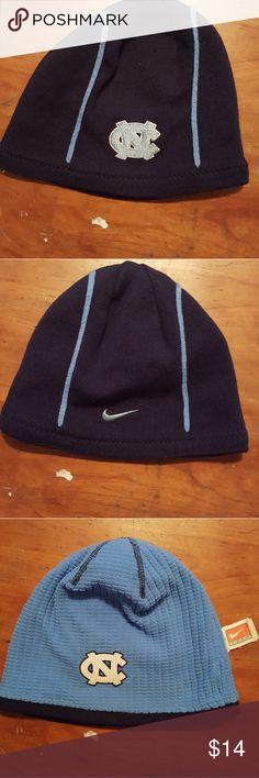 North Carolina Tar Heels reversible beanie hat North Carolina Tar Heels  reversible Nike beanie hat Nike Accessories Hats 6f55d1eb04fb