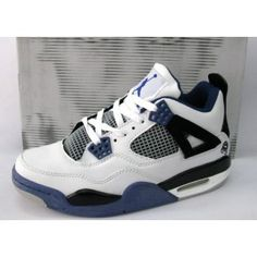 3d606d36db6f00 Air Jordan 4 Retro White Black Purple