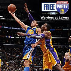 ITS GAME DAY!!! The #Warriors play the back end of a back-to-back tonight against the @Laura Akers, and youre invited to watch the game at Park 77 in SF at our official Road Viewing Party. Game Preview & Viewing Party details @ warriors.com/gameday