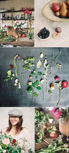 "Flowers: Amy Osaba | ""How to Create a Foraged Floral Arrangement"" 