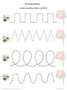 Worksheets 483222235020342437 - Spring Preschool Worksheets in Spanish / Hojas de trabajo primavera preescolar Source by verylittlething Preschool Learning Activities, Free Preschool, Preschool Lessons, Preschool Centers, Spanish Activities, Printable Preschool Worksheets, Free Kindergarten Worksheets, Tracing Worksheets, Alphabet Worksheets