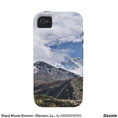 Nepal Mount Everest : Glaciers, Lakes, Scenic View Case-Mate iPhone 4 Cover