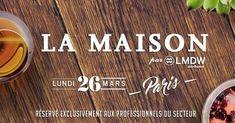 Paris Food & Drink Events: La Maison Paris par LMDW Distribution March 26 @ 10:00 - 18:00