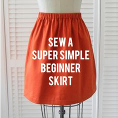 Make this easy skirt