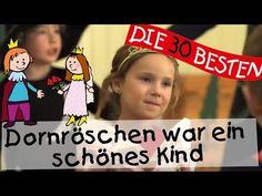 Dornröschen war ein schönes Kind - Singen, Tanzen und Bewegen    Kinderlieder - YouTube
