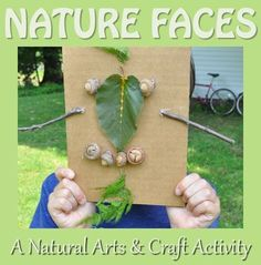 Encourage and expand your child's creativity by making nature faces together! Our #LearningToolkit blog has more: