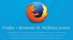 Firefox + Windows 10