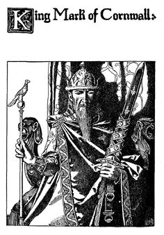 KING FELIX OF CORNWALL   Said to be the father of King Mark     ✫ღ⊰n