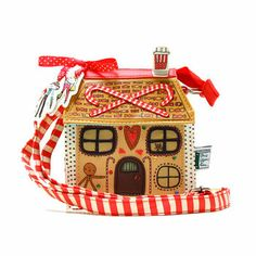 ONCE UPON A TIME HANSEL AND GRETEL MINI HOUSE BAG BY DISASTER DESIGNS