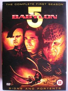 """On 22 February 1993 it was broadcast in the U.S.A. """"The meeting"""" (""""The Gathering""""), the TV movie pilot that introduced the saga of """"Babylon 5"""", created by J. Michael Straczynski. The image is of a DVD box set of the first season British edition."""