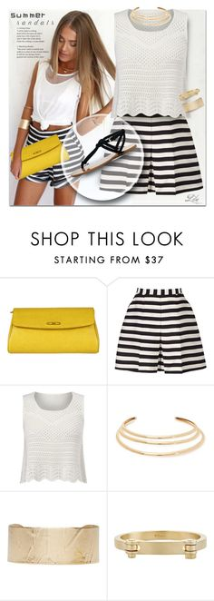 """""""The Cutest Summer Sandals II"""" by breathing-style ❤ liked on Polyvore featuring Fendi, Reiss, Lipsy, Kenneth Jay Lane, Maison Margiela, MIANSAI, Sole Society and summersandals"""