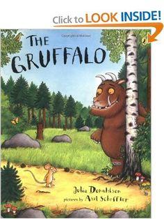 Amazon.com: The Gruffalo (9780142403877): Julia Donaldson: Books