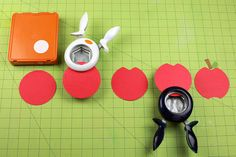 How to make an apple out of Fiskars Punches! www.fiskars.com