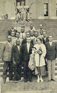 Haitian students at Columbia University c. 1933