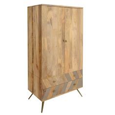 Leif Wardrobe, Natural Mango Wood