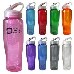28 Oz. Sports Bottle With Fruit Infuser, Made in USA | Minimum order 500, $6.07 - $3.99 ea.