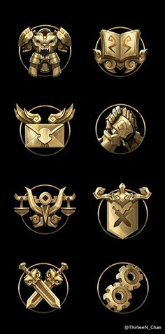 PC games RPG Game fans Collection brooch Commemorative great badge (33 styles)