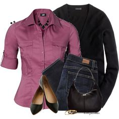 A fashion look from September 2014 featuring J.Crew cardigans, H&M and Paige Denim jeans. Browse and shop related looks.