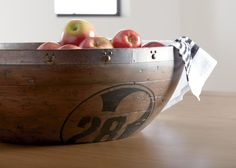 Buy Ethan Allen's Icon 28 Bowl, generously sized and wonderfully useful, perfect to be the center of attention on a table in the dining room or hub. Ethan Allen Disney, Mickey Head, Nailhead Trim, A Table, Serving Bowls, Decorative Bowls, Dining Room, Wood, Tableware