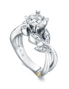 Engagement Ring of the Week: Mystic - Show her how magical your love is. Give her a Mark Schneider engagement ring.