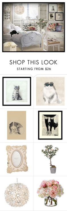 """""""I love my cat - Contest entry"""" by desider ❤ liked on Polyvore featuring interior, interiors, interior design, home, home decor, interior decorating, Amanti Art, PTM Images, WALL and Costa"""