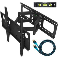 Cheetah Mounts Plasma LCD Flat Screen TV Articulating Full Motion Dual Arm Wall Mount Bracket For 32-65″ Displays Up To 165LBS With 10′ High Speed HDMI Cable With Ethernet Fits Up To 24″ Studs at http://suliaszone.com/cheetah-mounts-plasma-lcd-flat-screen-tv-articulating-full-motion-dual-arm-wall-mount-bracket-for-32-65-displays-up-to-165lbs-with-10-high-speed-hdmi-cable-with-ethernet-fits-up-to-24-studs/