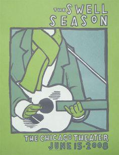 The Swell Season triptych | thebirdmachine