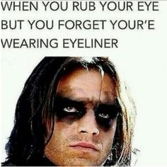 And this is a problem that you literally never face. | 21 Things All Girls Who Don't Wear Makeup Will Understand
