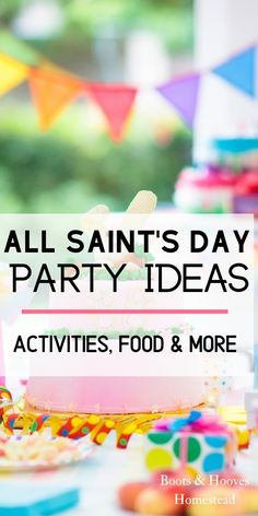 All Saint's Day party ideas for the Catholic home. Catholic activities for children, food ideas, and more than just costume inspiration for you All Saint's Day party. Catholic Crafts, Catholic Kids, Catholic School, Catholic Saints, Catholic Feast Days, Catholic Prayers, Saints For Kids, Reformation Day, All Souls Day