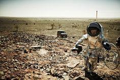 Un Mercedes Classe G sur Mars photographié par Benjamin Pichelmann