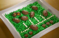 Hershey's Kitchens | REESE'S Stuffed Football Cookies