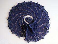 MES FAVORIS TRICOT-CROCHET: Modèle tricot gratuit : Le châle Begonia Swirl