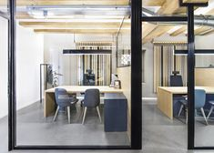 Zapata y Herras Lawyer's Office Design >>Masquespacio<< natural wood accents